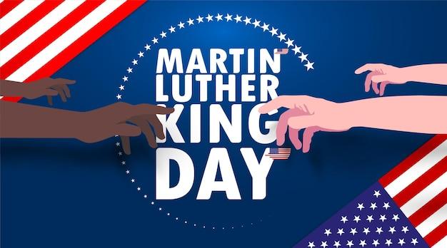 Celebração do dia de martin luther king
