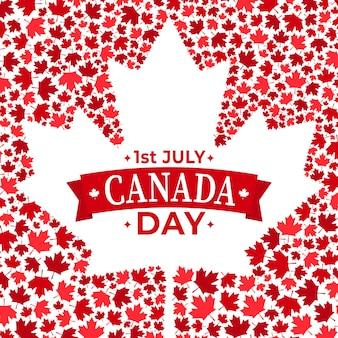 Celebração do dia do canadá