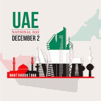 Celebração do dia dos emirados árabes unidos no kuwait