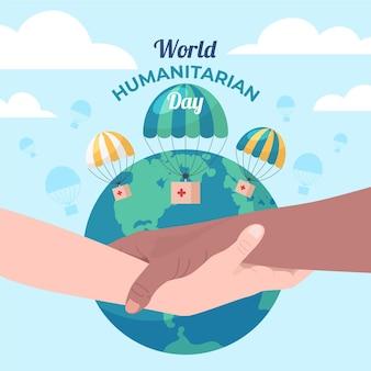Celebração do dia humanitário mundial