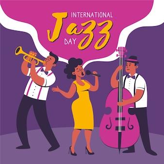 Celebração do dia internacional do jazz