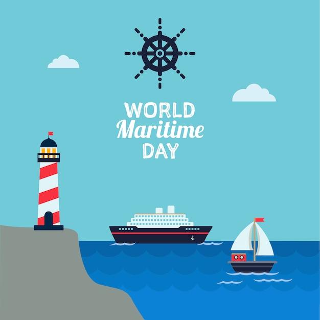 Celebração do dia marítimo mundial