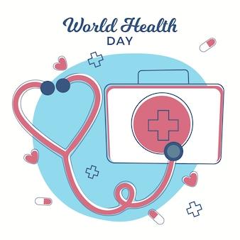 Celebração do dia mundial da saúde