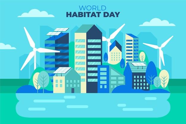 Celebração do dia mundial do habitat