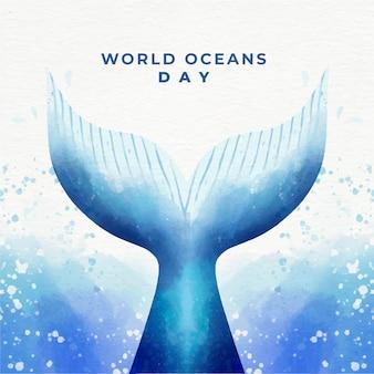 Celebração do dia mundial dos oceanos