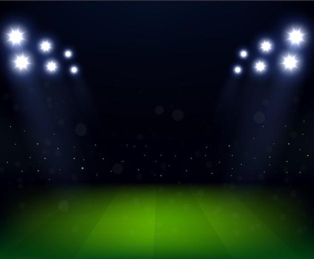 Celebração do estádio de futebol