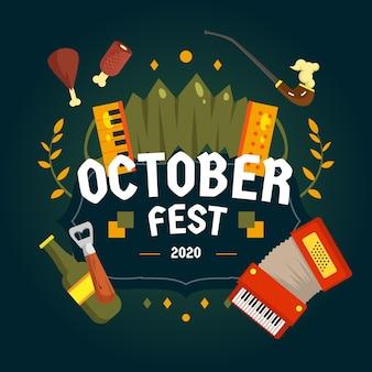 Celebração do evento da oktoberfest