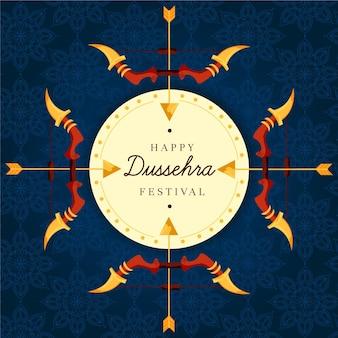 Celebração do evento dussehra