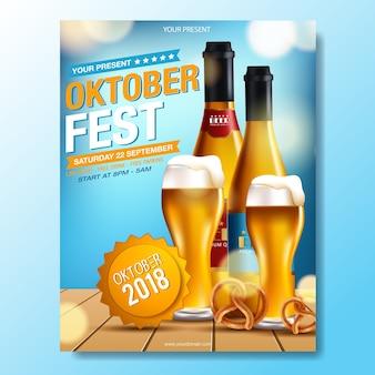 Celebração do festival de cerveja oktoberfest.