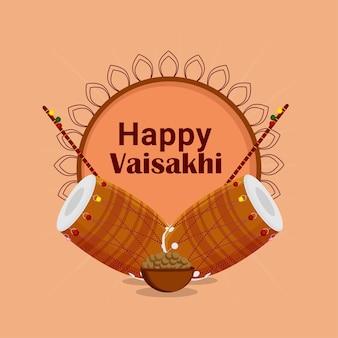 Celebração do festival vaisakhi do sikh indiano