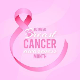 Celebração do mês de conscientização do câncer de mama