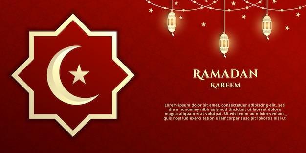 Celebração do ramadan kareem