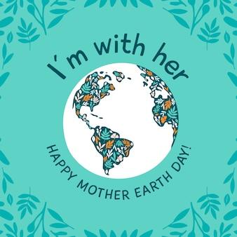 Celebração internacional do dia da mãe terra