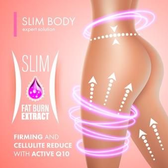 Celulite bodycare pele reafirmante design da solução