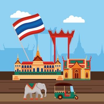Cena cultural tailandesa
