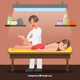 Cena, massagista, spa