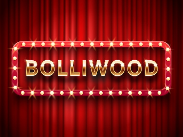 Cenário de cinema de bollywood