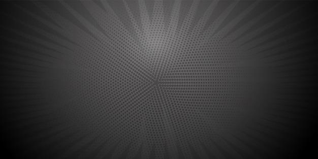Cenário radial de banda desenhada de pop art