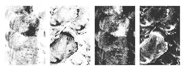 Cenografia de molduras de textura suja de grunge