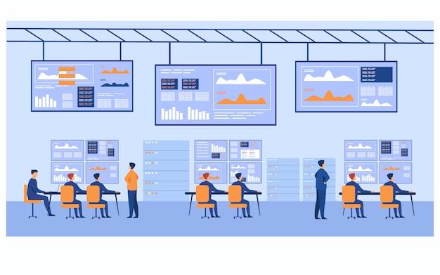 Centro de controle de big data