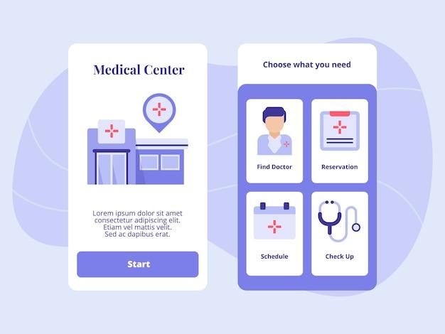 Centro médico encontrar verificação de agendamento de reserva de médico