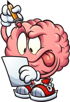 Cérebro pensando