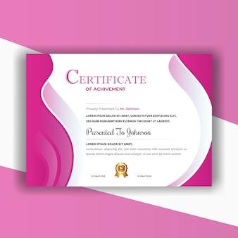 Certificado abstrato