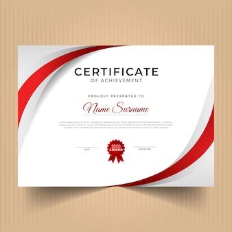 Certificado de design de modelo de conquista