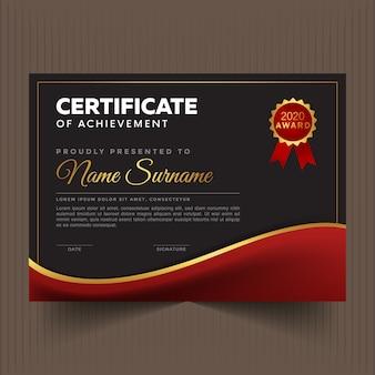 Certificado de profissão