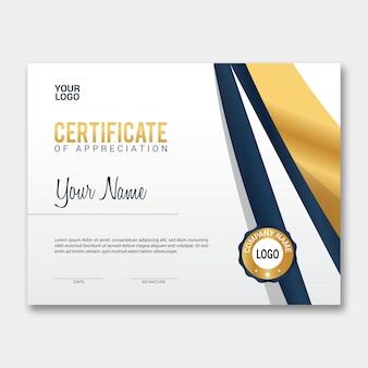 Certificado de vetor