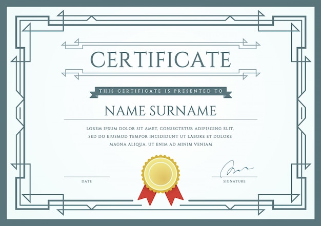 Certificado ou diploma