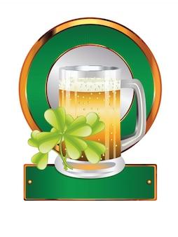 Cerveja e trevo
