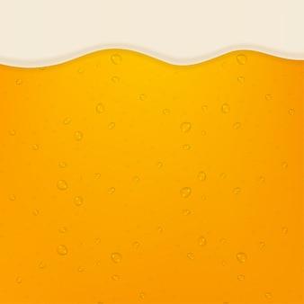 Cerveja pilsen. cerveja na alta ampliação.