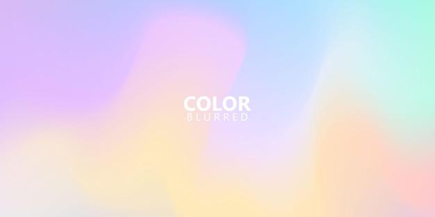 Céu abstrato fundo gradiente de arco-íris pastel