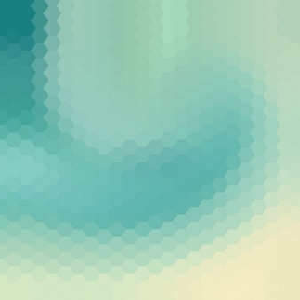Céu azul do fundo do redemoinho poligonal