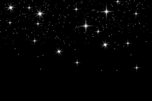 Céu de estrelas noturnas