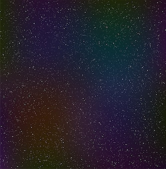 Céu estrelado à noite, poeira cósmica.