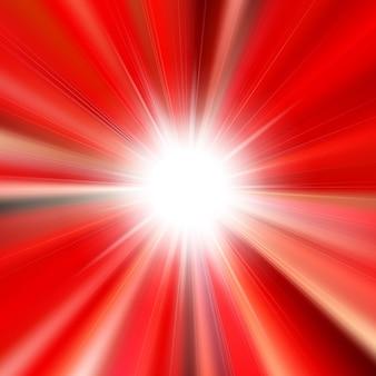 Chama estrela brilhante brilhante com fundo alinhado