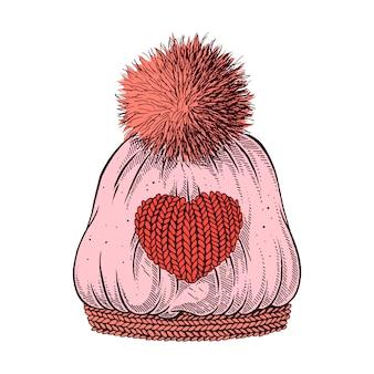 Chapéu de inverno.