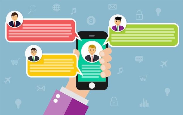 Chat de celular