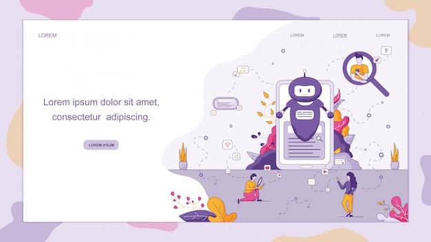 Chatbot inteligente para o seu negócio.