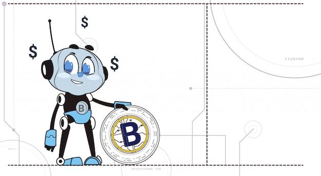 Chatbot segure bitcoin robots e cripto moeda