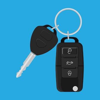 Chave do carro e do sistema de alarme