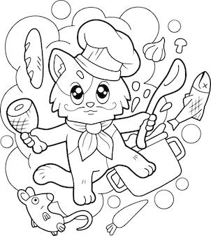 Chef gato