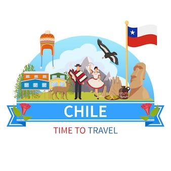 Chile composição