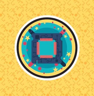Chip de processador de computador