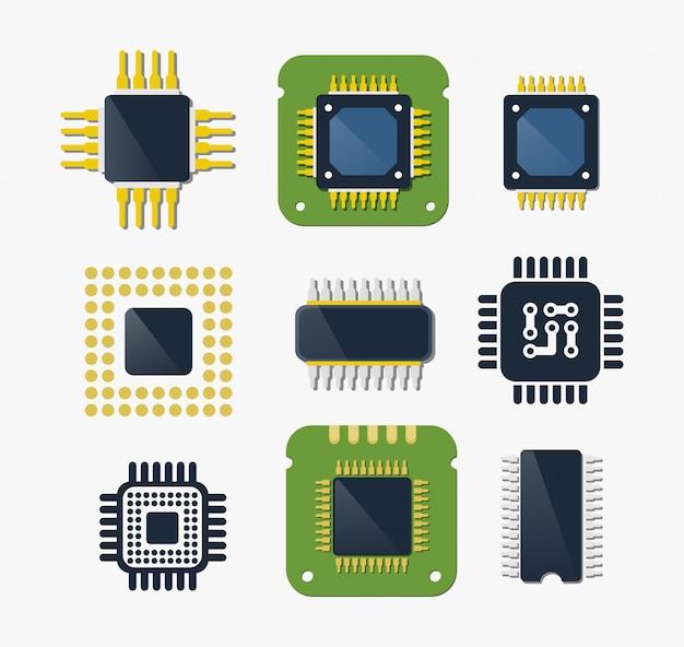 Chip de tecnologia