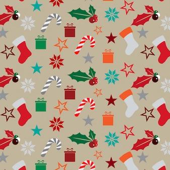 Chrismas pattern background dessgin