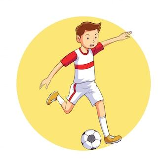 Chutando a bola