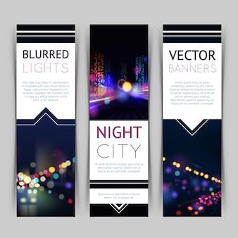 Cidade banner vertical